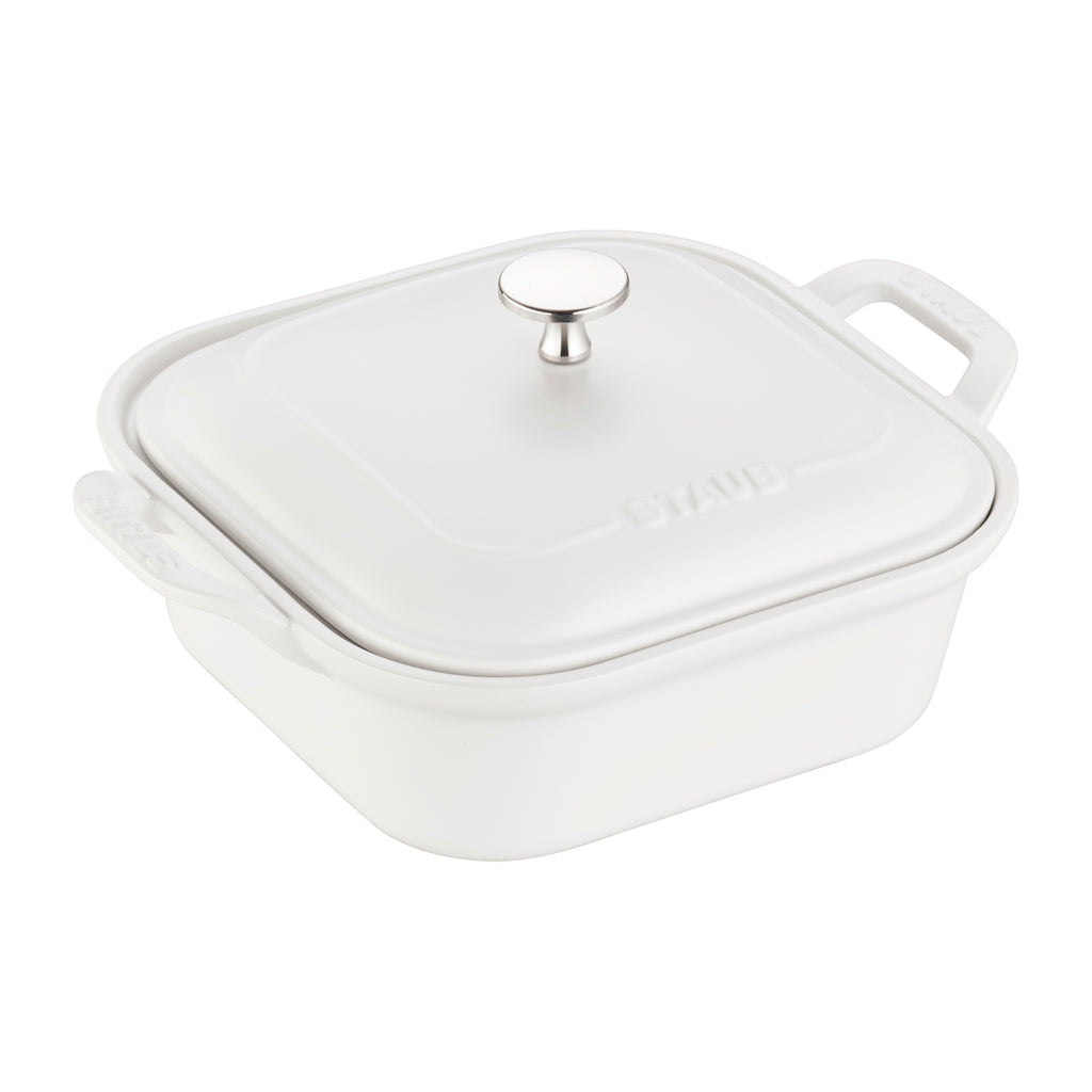 Staub Ceramic Square Covered Baking Dish