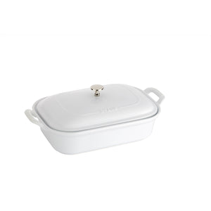 Ceramic Rectangular Covered Baking Dish