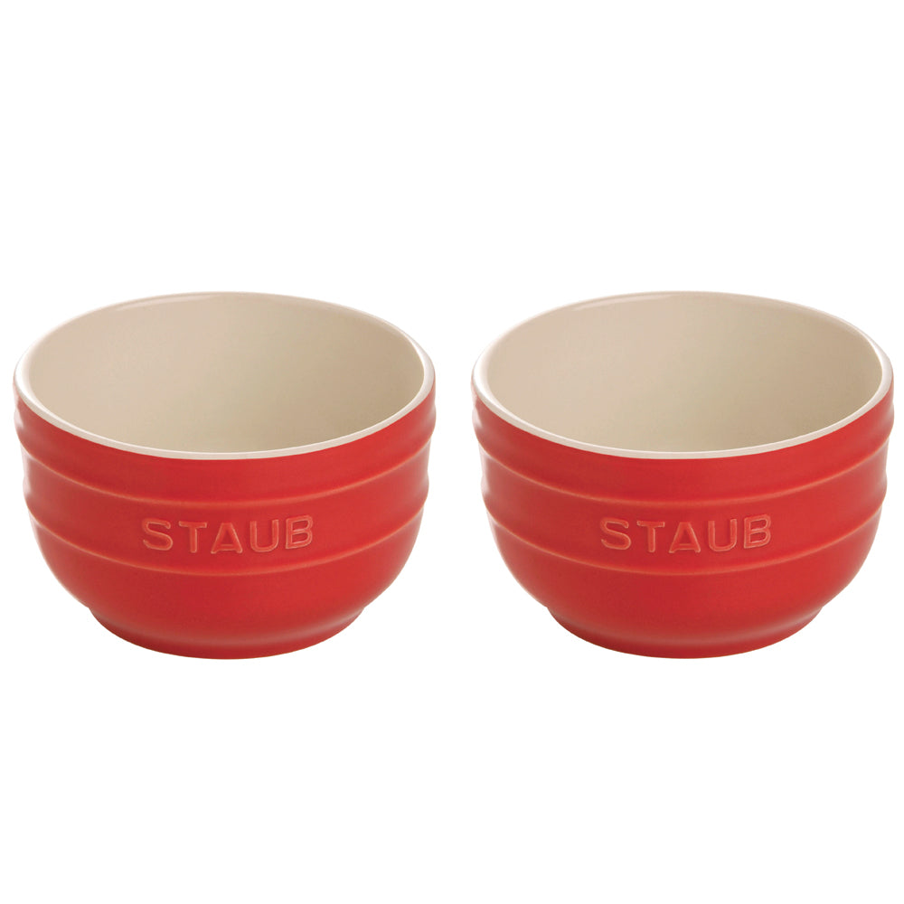Staub Ceramic Prep Bowl Set, Set of 2