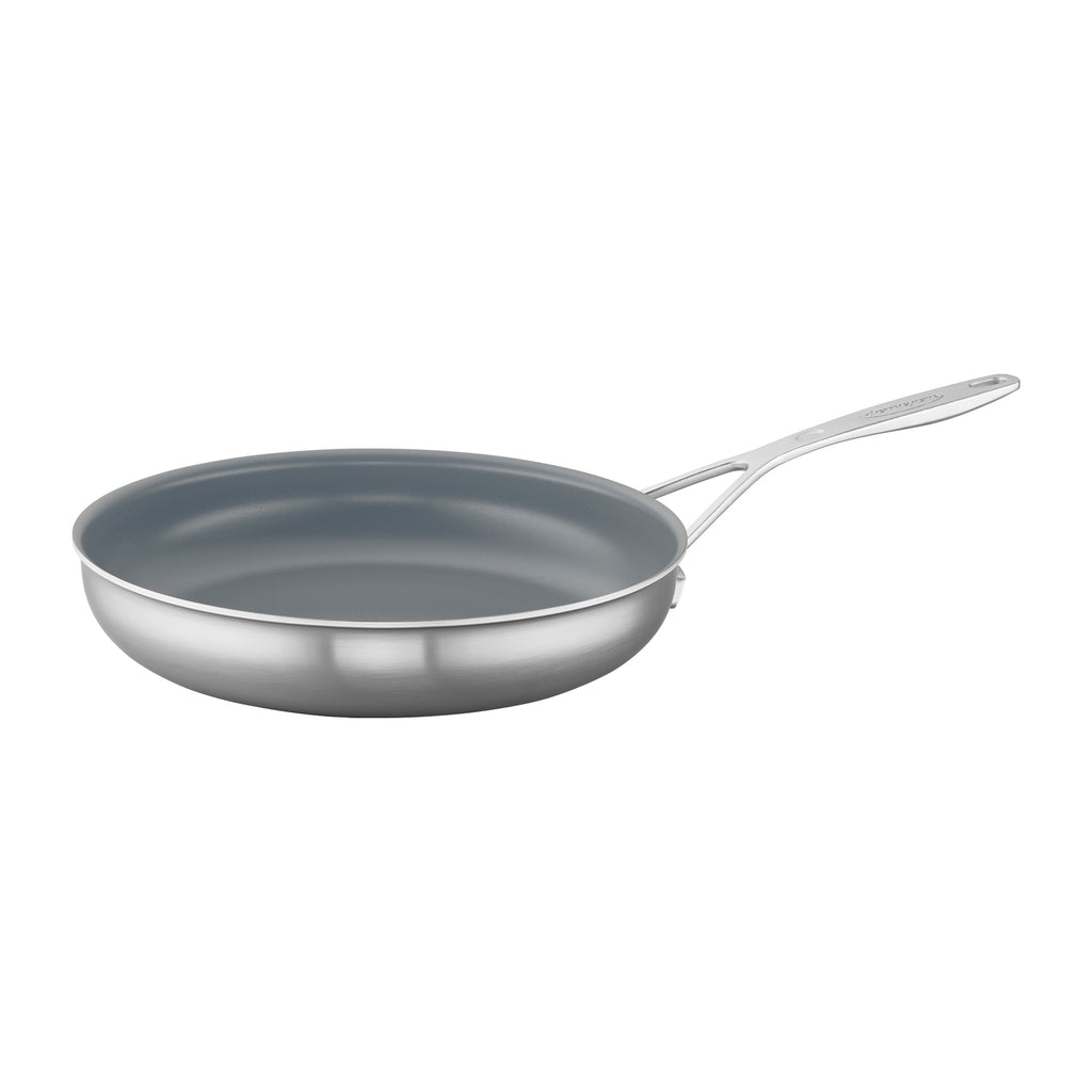 Demeyere Industry 5-Ply Stainless Steel Ceramic Nonstick Fry Pan