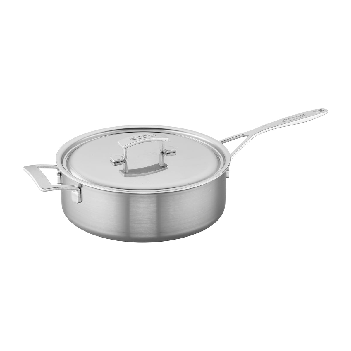 Demeyere Industry 5-Ply 6.5 Qt Stainless Steel Saute Pan