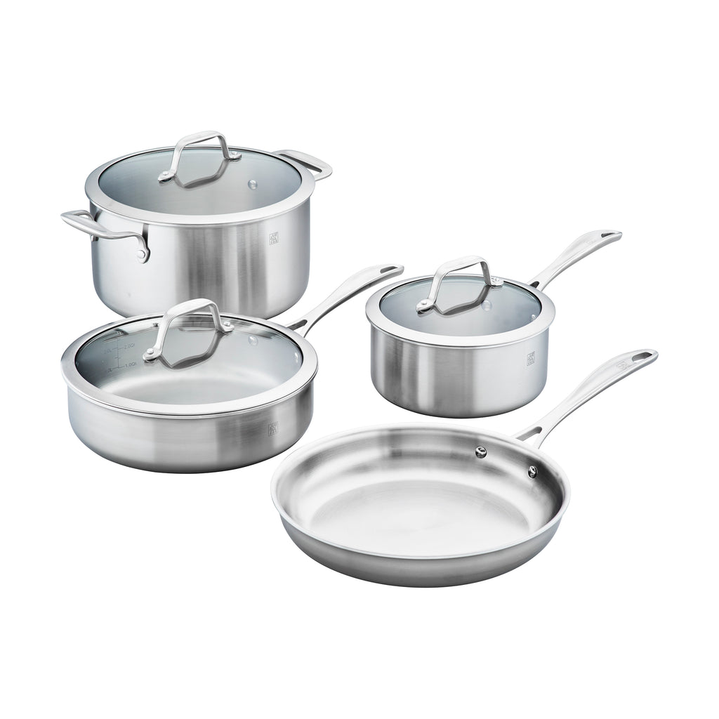 Zwilling Spirit 3-Ply Stainless Steel Cookware Set
