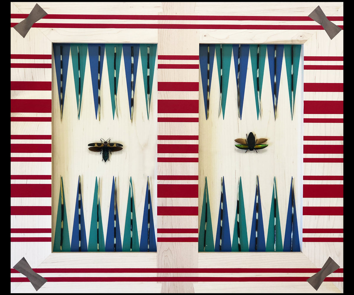 Lamu Backgammon Board