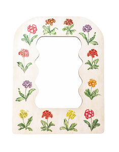 OTM Exclusive Fleur Home x Riley Sheehey Primrose Print Mirror