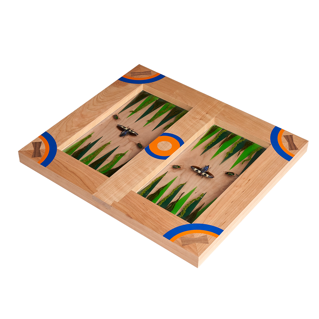 Jungle Backgammon Board