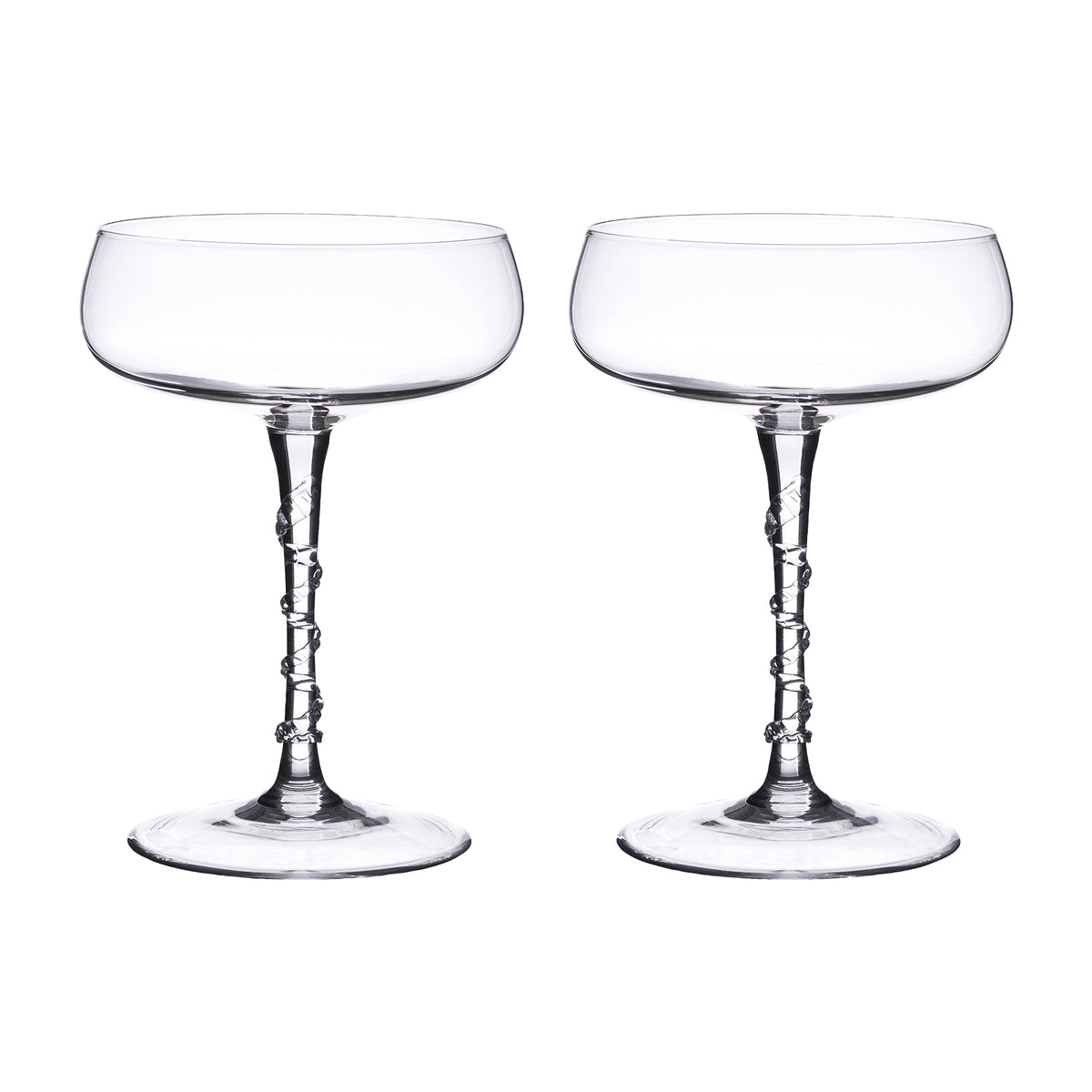 Amalia Champagne Coupe, Set of 2