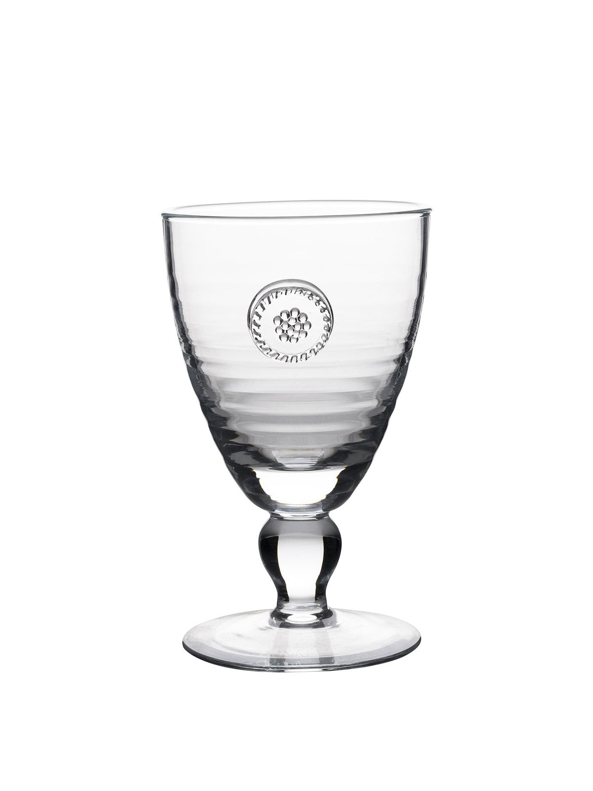 Berry & Thread Glassware Footed Goblet