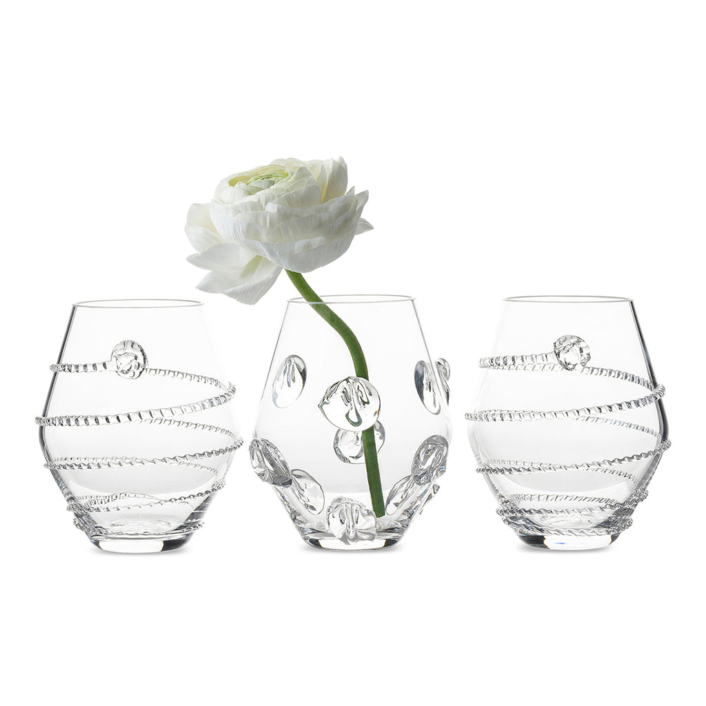 Assorted Mini Vases, Set of 3