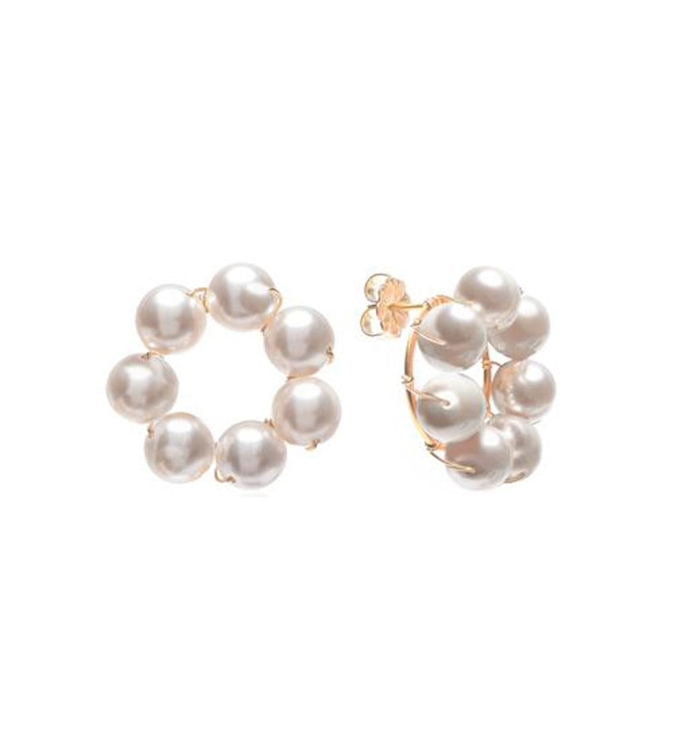 Le Margherite Pearl Earrings