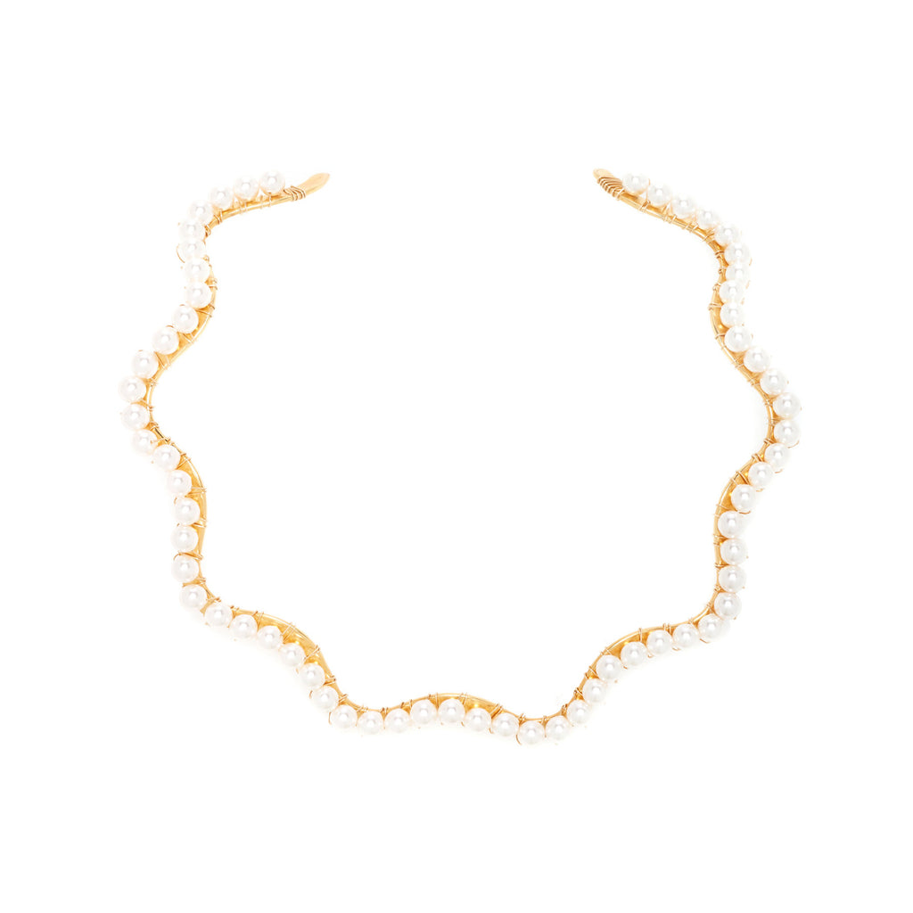 A Bigger Splash Choker Pearl Necklace