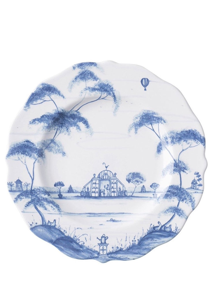 Country Estate Delft Blue Dessert/Salad Plate Conservatory