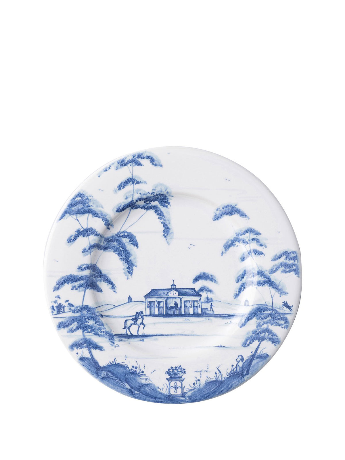 Country Estate Delft Blue Side/Cocktail Plate Stable