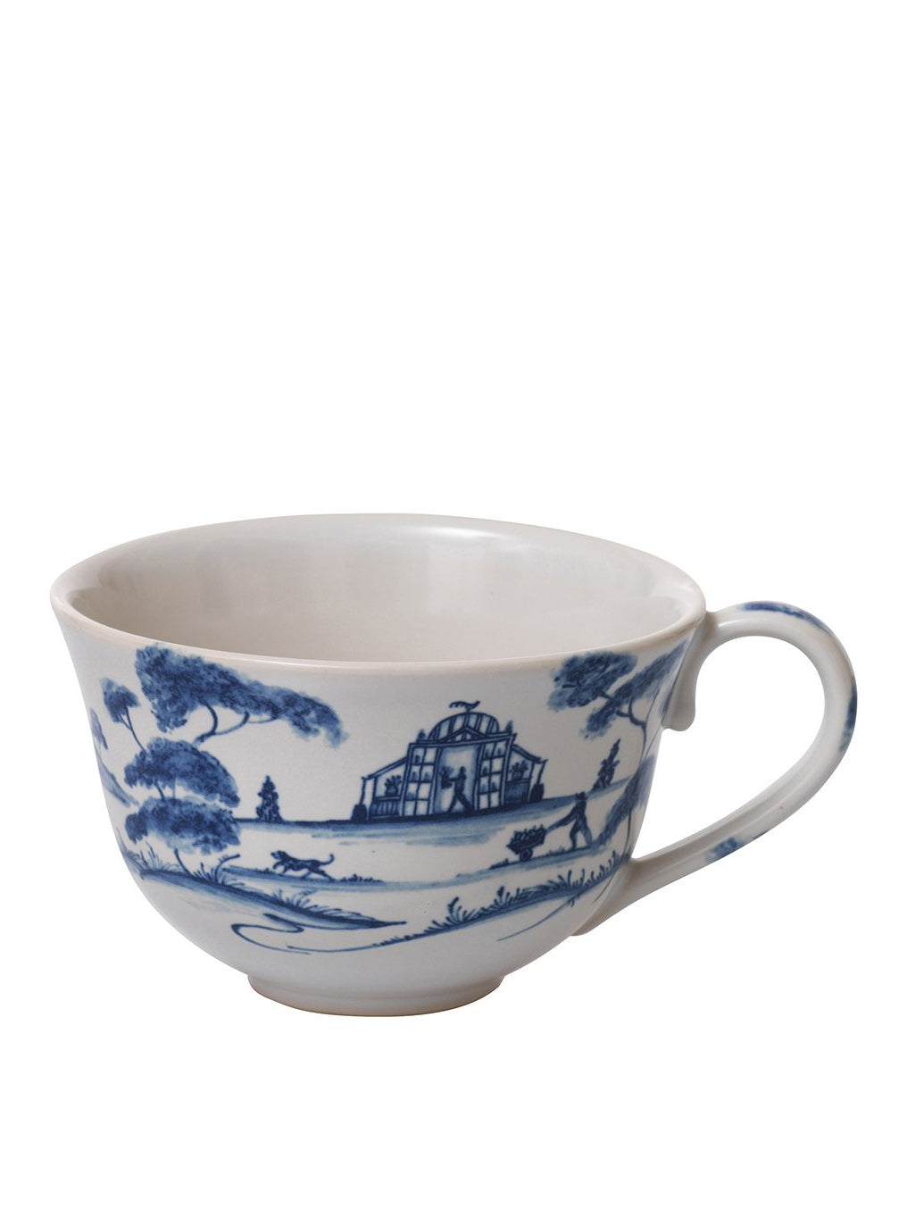 Country Estate Delft Blue Tea/Coffee Cup Garden Follies