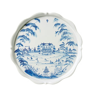 Country Estate Delft Blue Cake Stand Fete