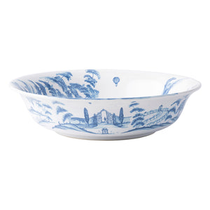 "Country Estate Delft Blue 10"" Serving Bowl Harvest"