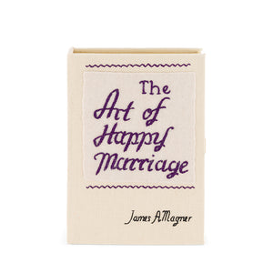 The Art of Happy Marriage  Mini Book Clutch