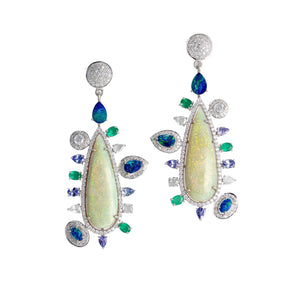 Sundara Opal Earrings