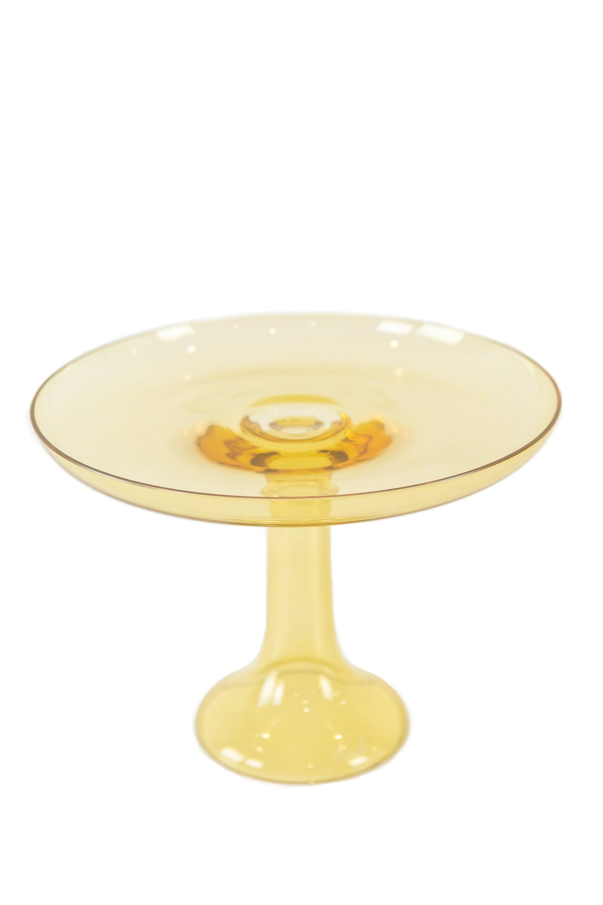 Estelle Cake Stand Yellow