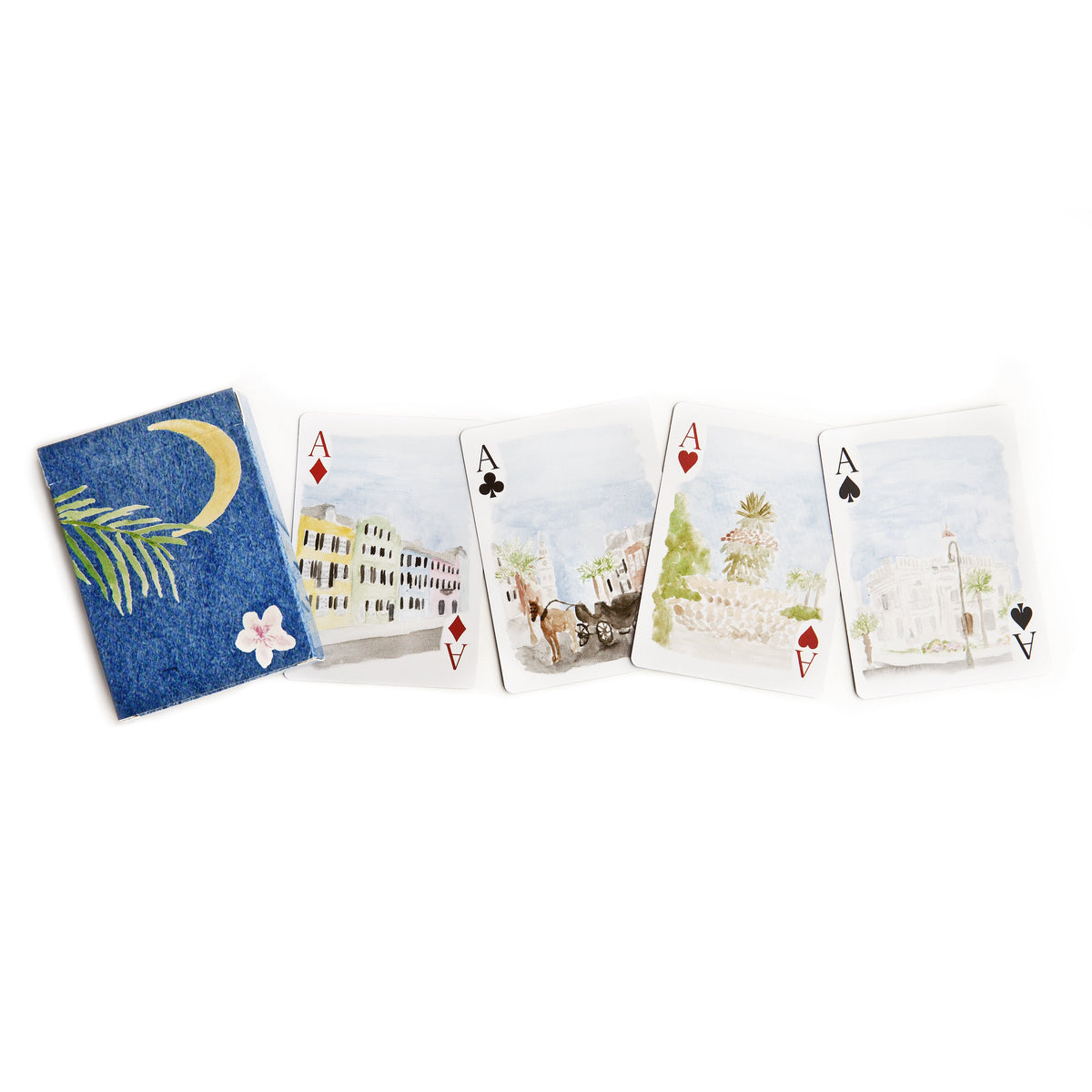 Charleston Playing Cards