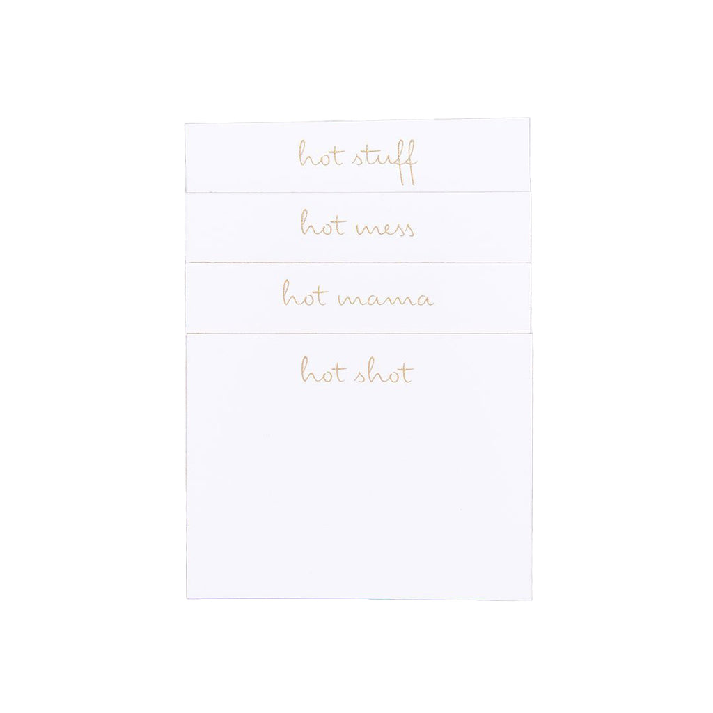 Too Hot Place Cards, Set of 24