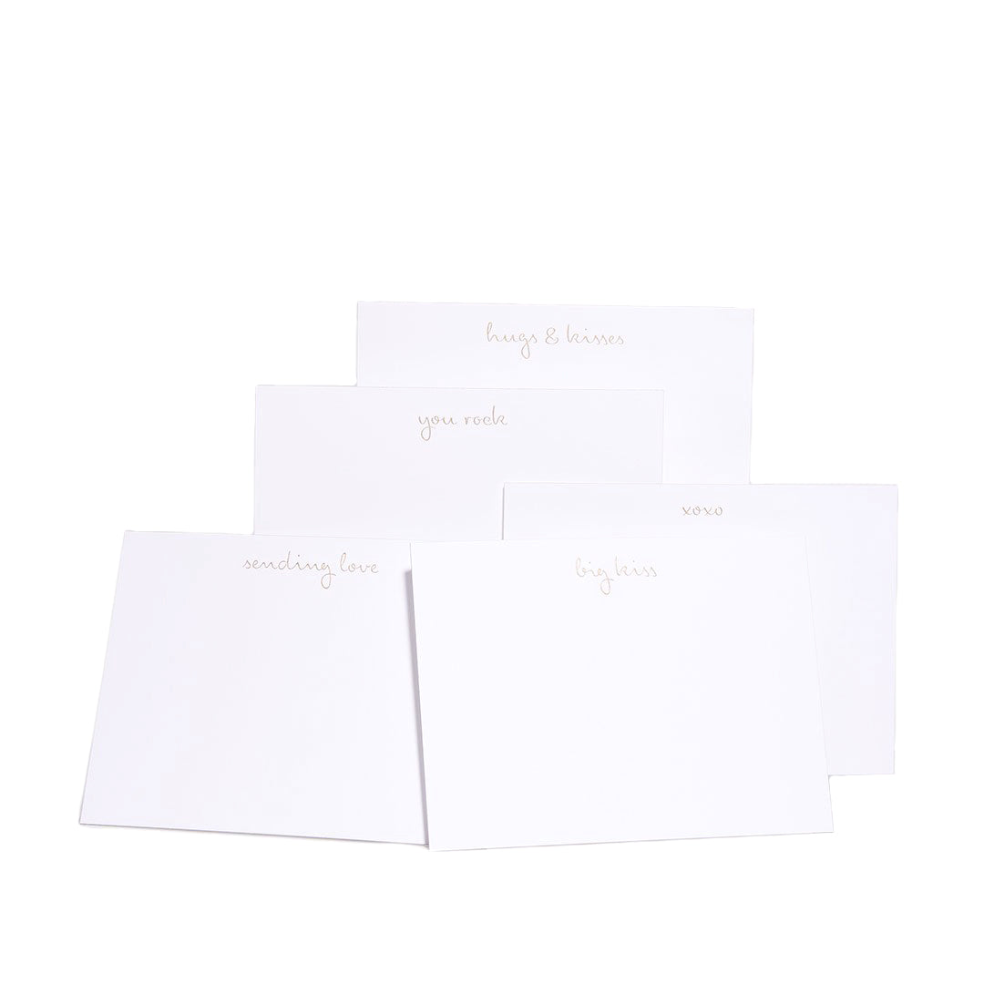Je T'aime Notecards, Set of 10