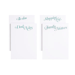 Maison Notepads, Set of 4