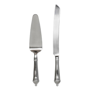 Berry & Thread Bright Satin Cake Knife & Server Set