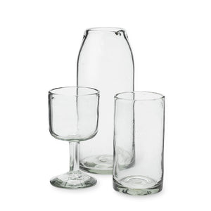 Clear Drinking Glass, Set of 6