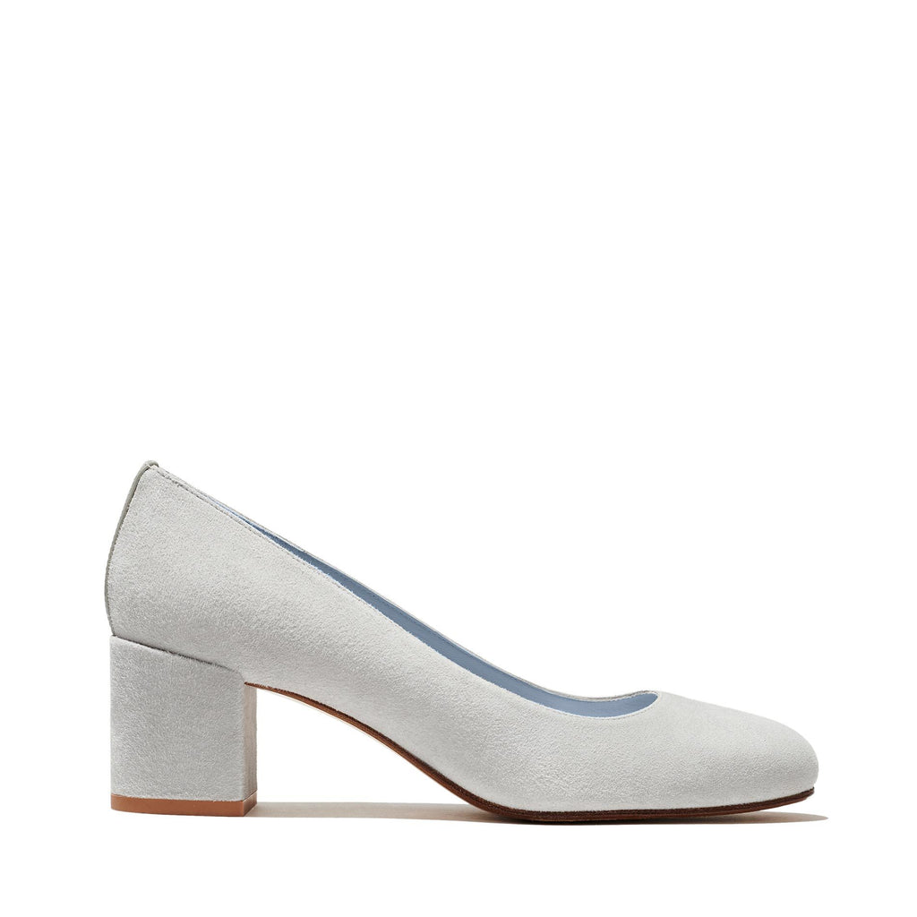 Made-To-Order Bridal: The Heel in Powder Suede