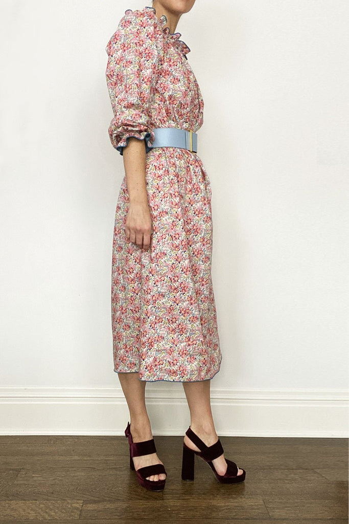 Swirling Floral Grace Dress