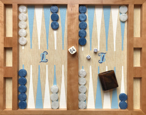 Flat Backgammon Board