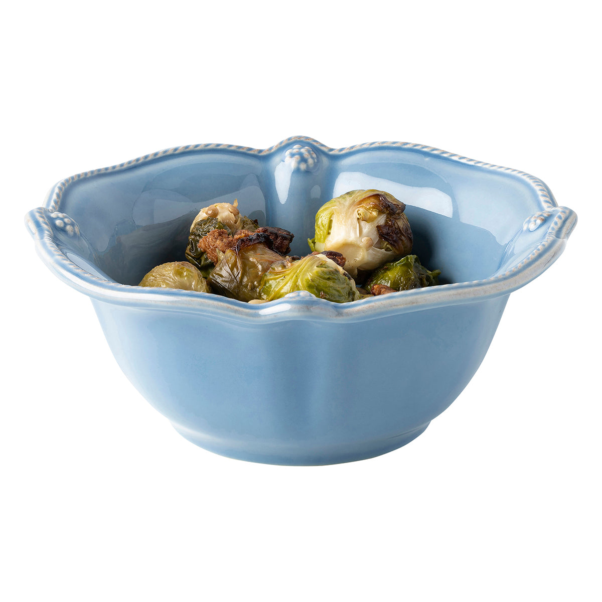 Berry & Thread Chambray Cereal/Ice Cream Bowl