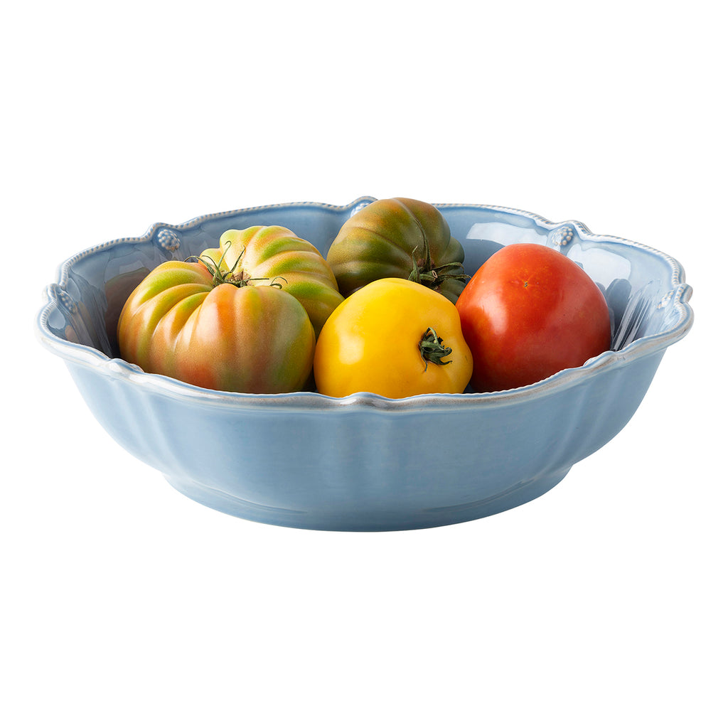 "Berry & Thread Chambray 13"" Bowl"