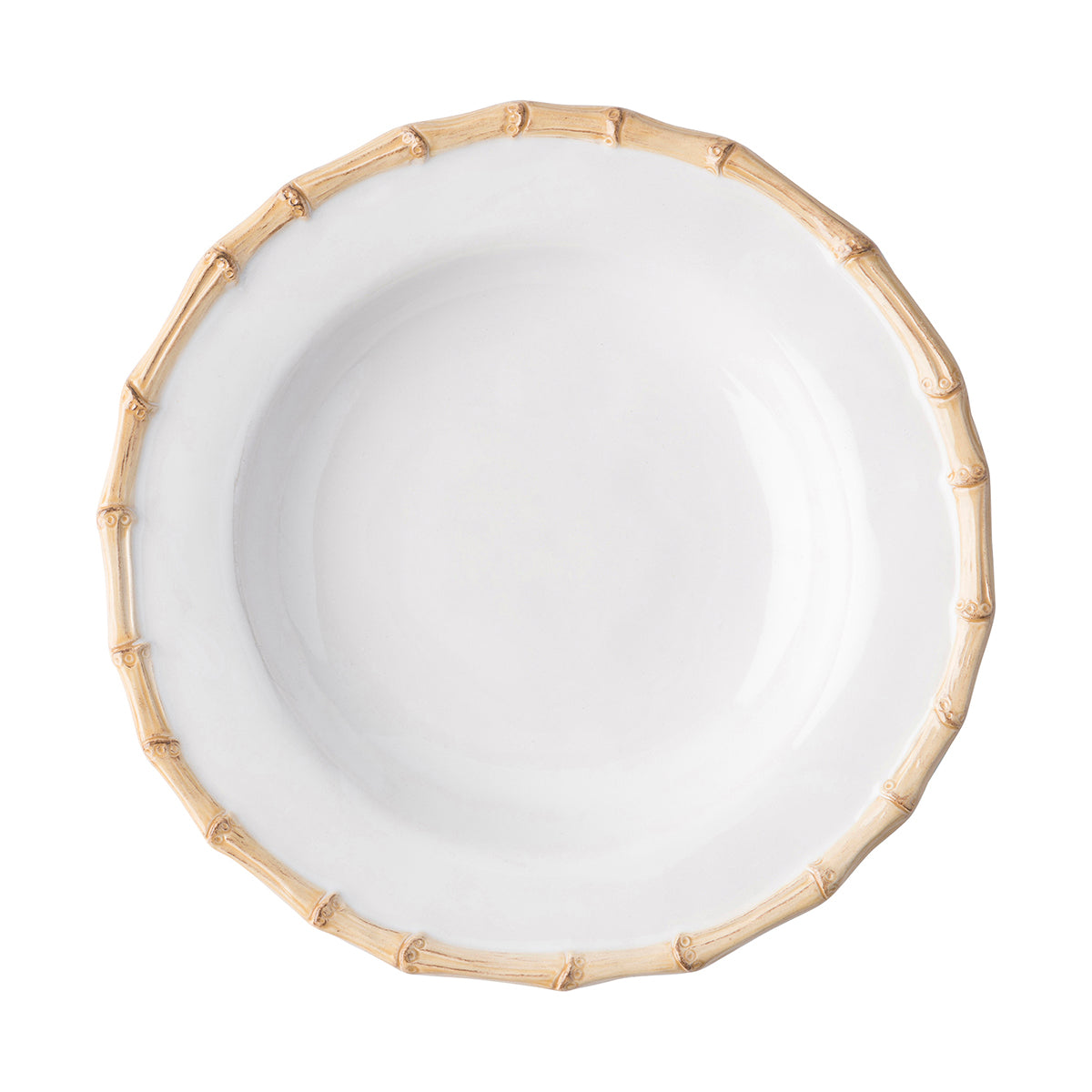 Classic Bamboo Natural Pasta/Soup Bowl