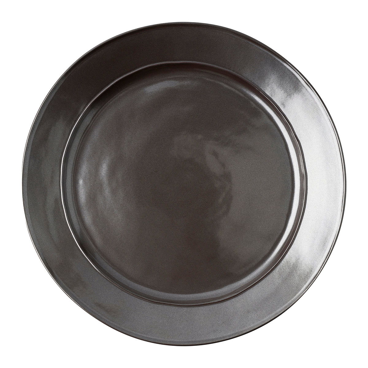 Pewter Stoneware Platter/Charger