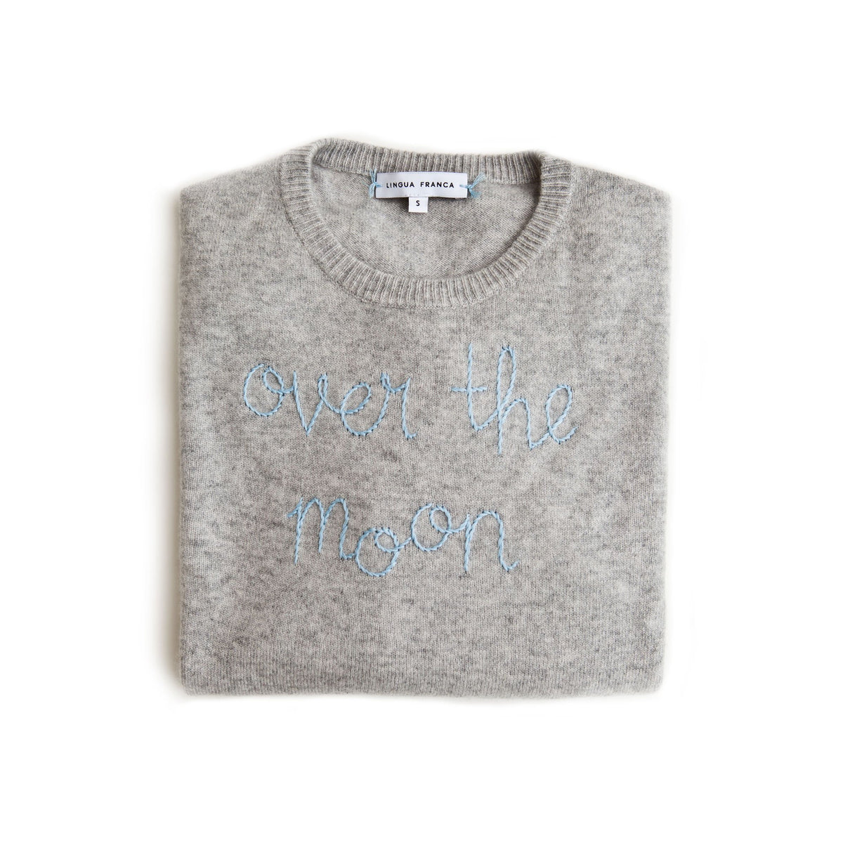 Over The Moon x Lingua Franca Cashmere Sweater