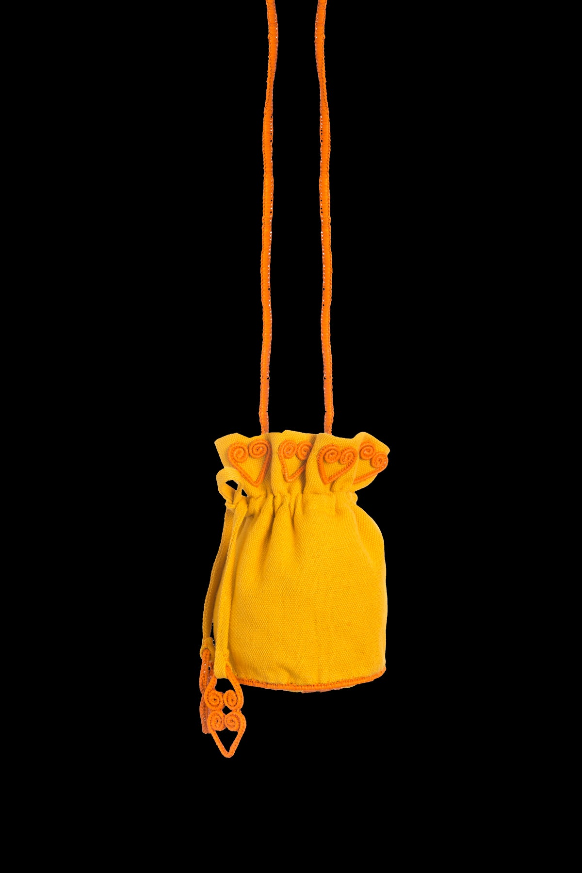 Leaves Suzani Yellow And Mustard Bag