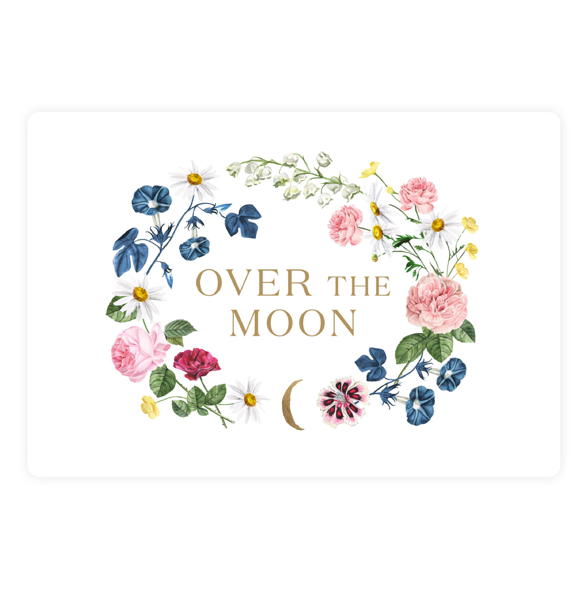 Over The Moon Gift Card