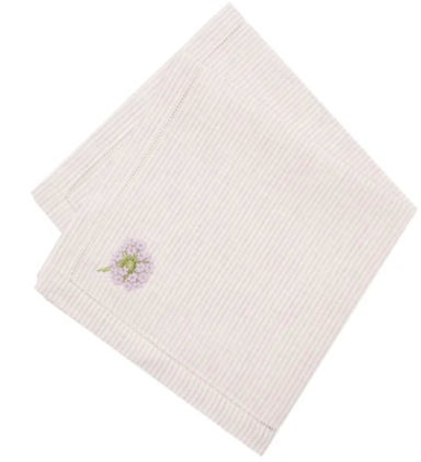 Embroidered Napkins, Set of 2