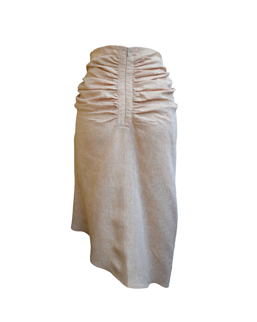 OTM Exclusive: Coco Skirt Honey Beige
