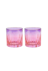 Shade Small Tumbler Glass, Set of 2