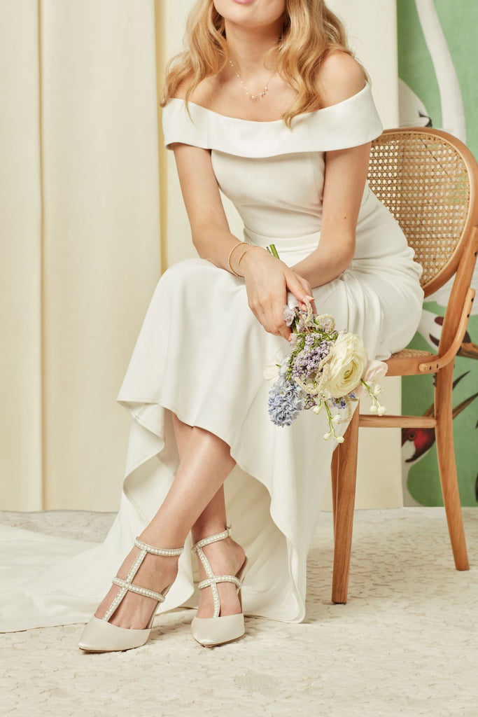 bella belel zola wedding shoes carolina pearl heels