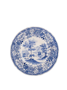 Blue and White Villeroy & Boch Burgenland Paysage Plates, Set of 6