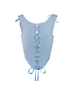 OTM Exclusive: Coco Corset Ice Blue