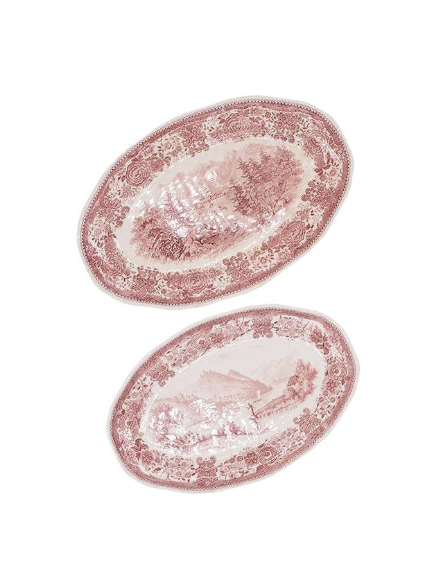 Bordeaux Villeroy & Boch Burgenland Serving Trays, Set of 2