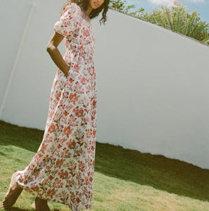 Short-Sleeve Maxi Dress
