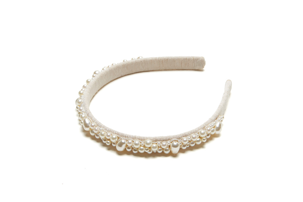 Pearl Pebble Headband