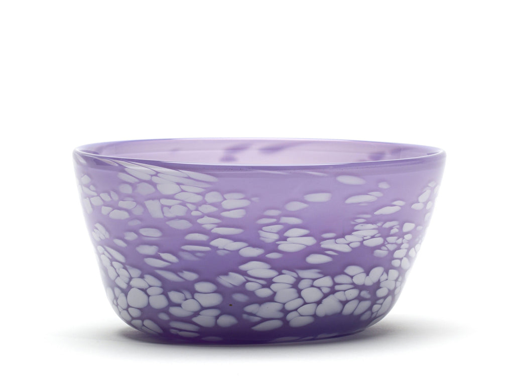 Lilac White Spotted Bowl
