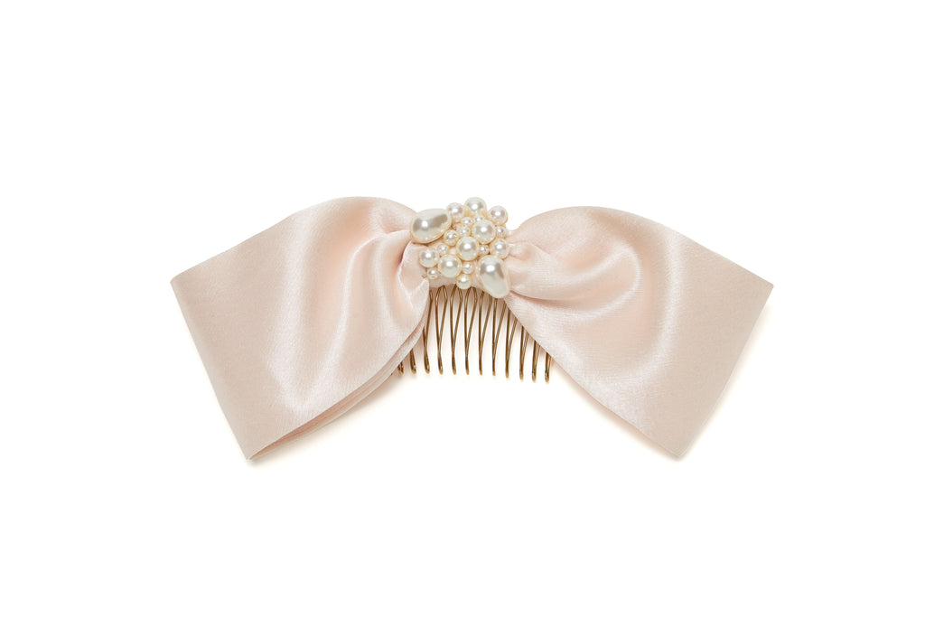 Oversized Bow Hair Comb