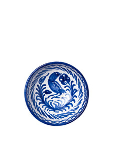 Casa Azul Small Bowl with Hand-Painted Designs